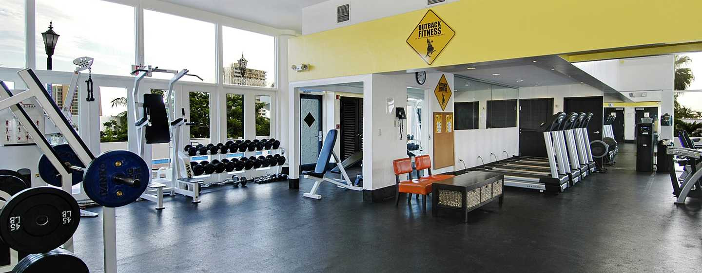 Bahia Mar Fort Lauderdale Beach - a DoubleTree by Hilton Hotel, USA– Fitnesscenter