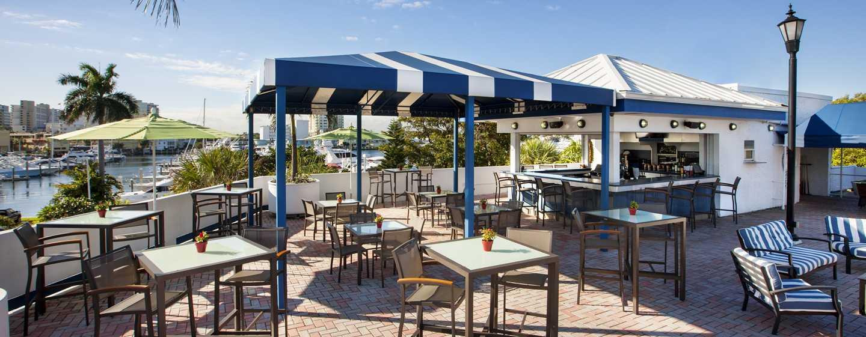 Bahia Mar Fort Lauderdale Beach – a DoubleTree by Hilton Hotel, USA – Poolområde