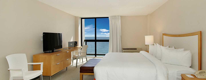 Bahia Mar Fort Lauderdale Beach - a DoubleTree by Hilton Hotel, USA– King-Size-Bett