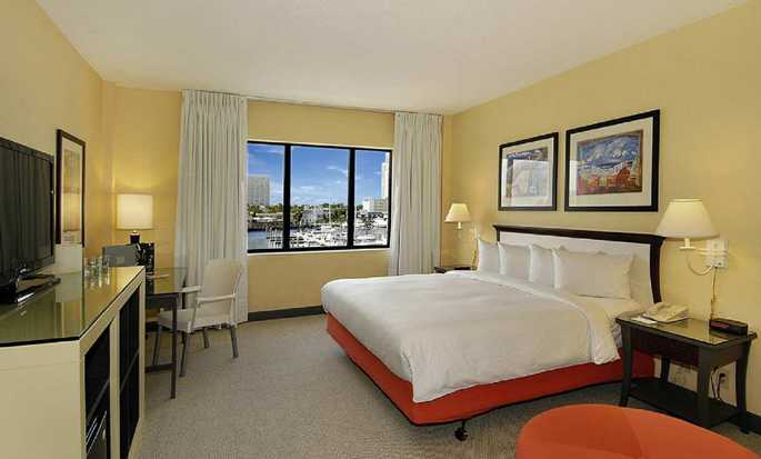 Bahia Mar Fort Lauderdale Beach - a DoubleTree by Hilton Hotel, USA – Standard Zimmer mit King-Size-Bett