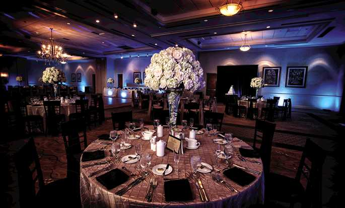 DoubleTree by Hilton Hotel Sunrise - Sawgrass Mills, Florida USA - Wedding Setup