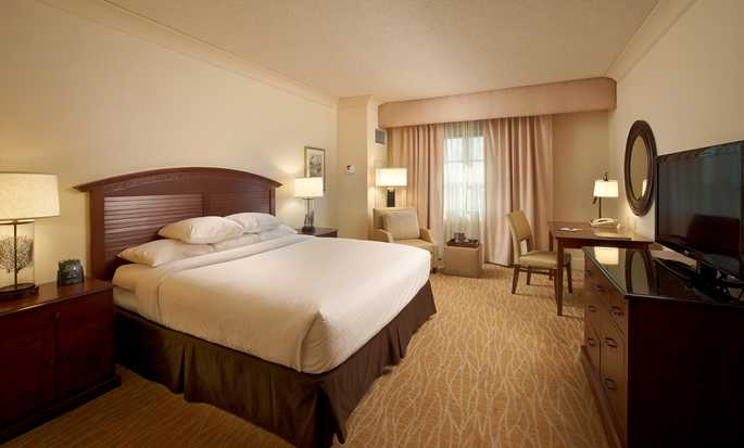 DoubleTree by Hilton Hotel Sunrise - Sawgrass Mills, Florida USA - King Guestroom