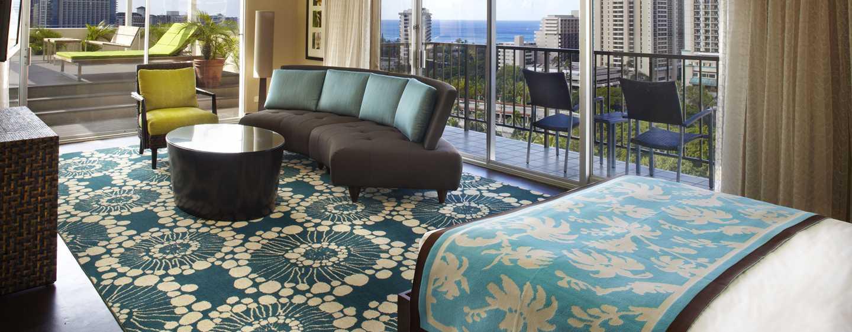 Hôtel DoubleTree by Hilton Alana - Waikiki Beach, États-Unis - Suite à l'étage penthouse