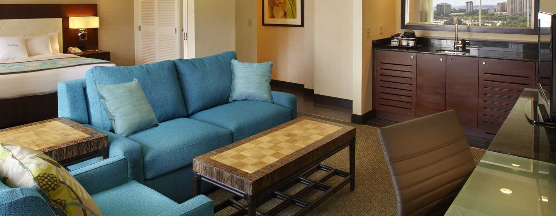 Hôtel DoubleTree by Hilton Alana - Waikiki Beach, États-Unis - Suite à une chambre à coucher