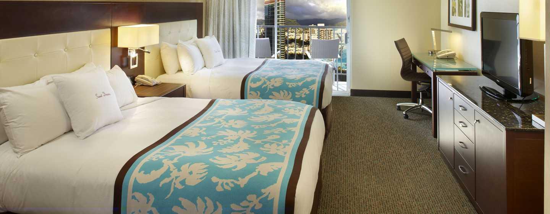 Hôtel DoubleTree by Hilton Alana - Waikiki Beach, États-Unis - Chambres avec vue sur la ville ou les montagnes
