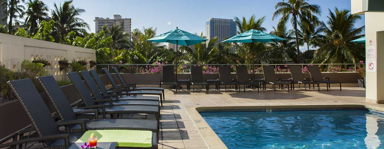 Hôtel DoubleTree by Hilton Alana - Waikiki Beach, États-Unis - Piscine extérieure