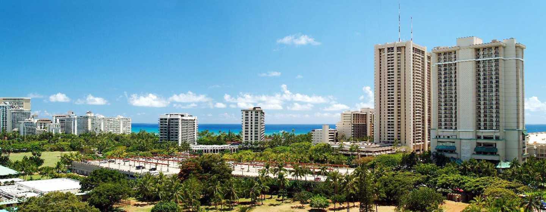 Hôtel DoubleTree by Hilton Alana - Waikiki Beach, États-Unis - Vue magnifique