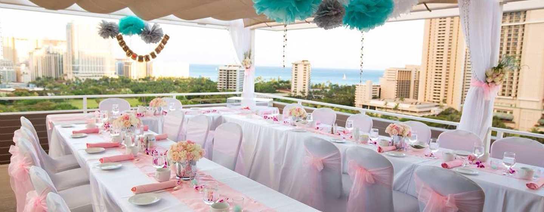 Hôtel DoubleTree by Hilton Alana - Waikiki Beach, États-Unis - Réception de mariage