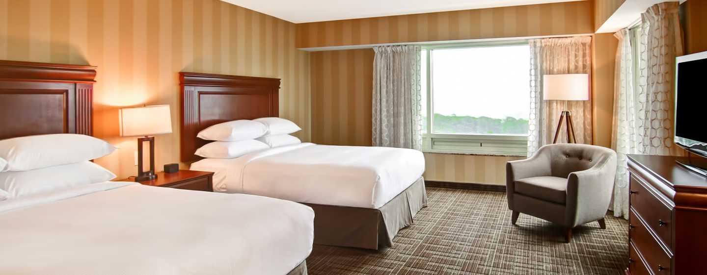 Hôtel DoubleTree Fallsview Resort & Spa by Hilton - Niagara Falls, Canada - Chambre avec deux grands lits