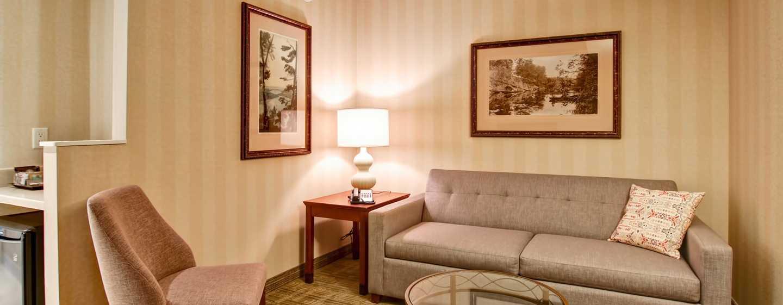 Hôtel DoubleTree Fallsview Resort & Spa by Hilton - Niagara Falls, Canada - Salle de séjour