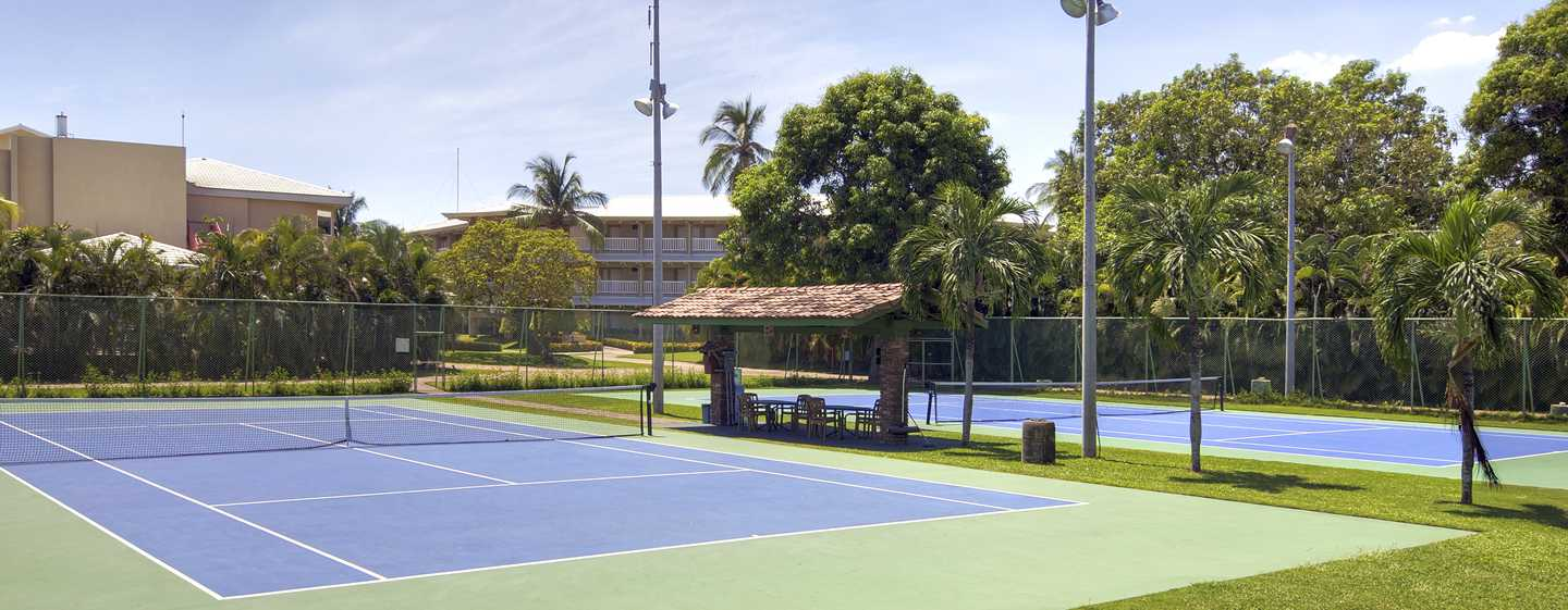 Hôtel DoubleTree Resort by Hilton Hotel Central Pacific - Costa Rica - Courts de tennis
