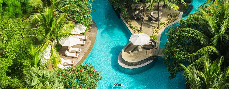 โรงแรม DoubleTree by Hilton จาการ์ตา อินโดนีเซีย - สระแบบลากูน