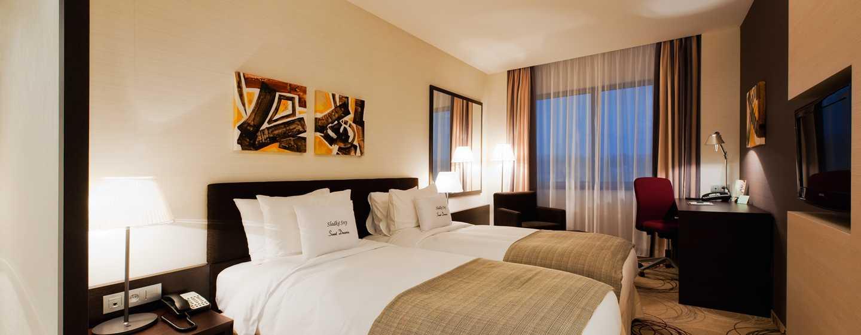 DoubleTree by Hilton Hotel Kosice, Slovensko - Dvoulůžkový pokoj