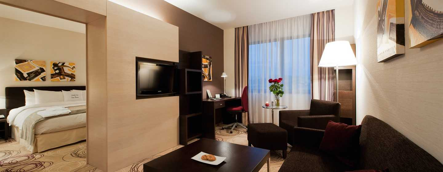 DoubleTree by Hilton Hotel Kosice, Slovakia - Suite con letto King size