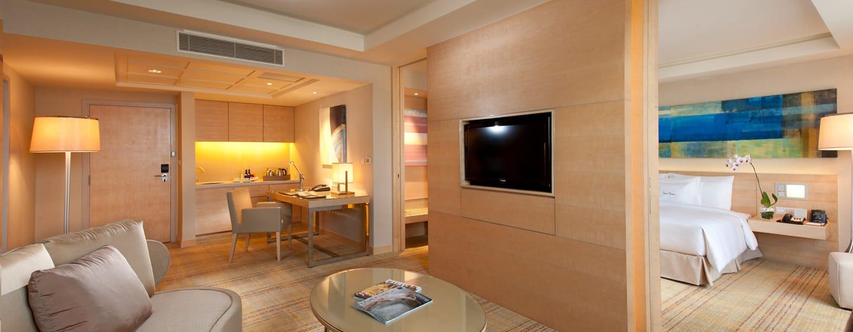 โรงแรม Doubletree by Hilton Hotel Kuala Lumpur มาเลเซีย - เอ็กเซ็กคิวทีฟสวีทเตียงคิงไซส์