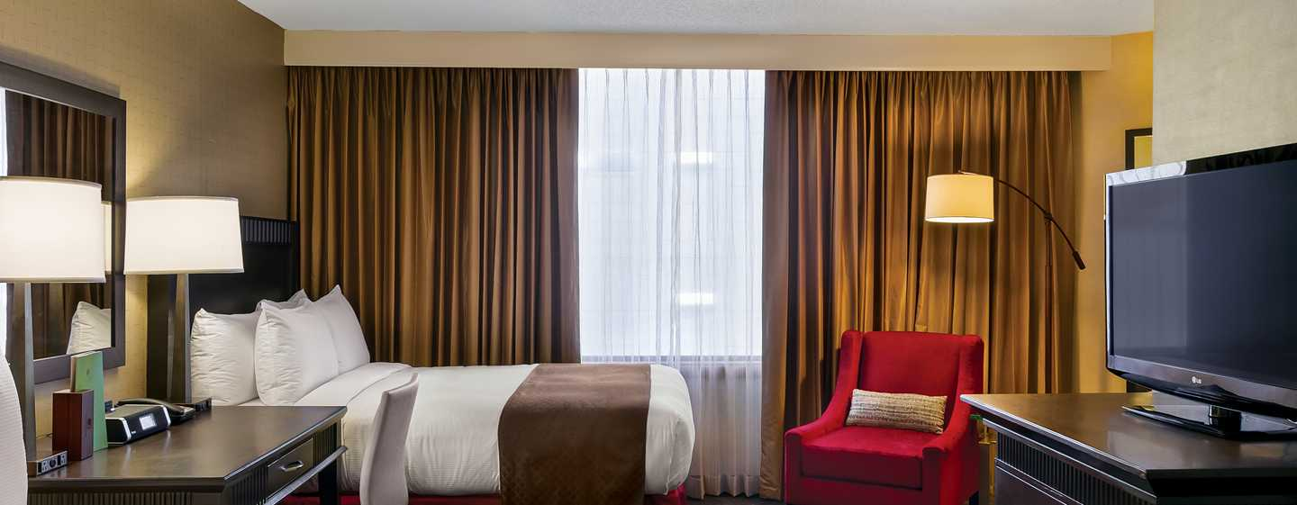Hotel DoubleTree by Hilton Los Angeles Downtown, EUA - Suite con dos camas Queen