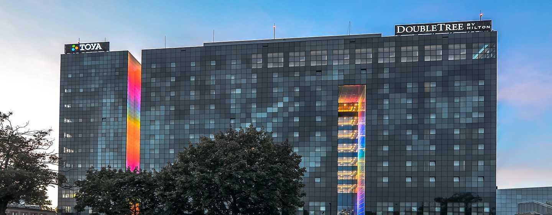 DoubleTree by Hilton Hotel Łódź, Polska – Fasada hotelu