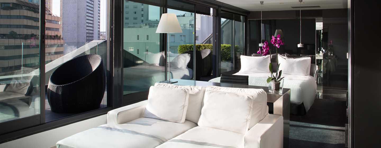 Hôtel DoubleTree by Hilton Hotel Lisbon - Fontana Park, Portugal - Chambre d'une suite junior