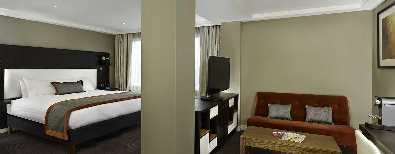 DoubleTree by Hilton Hotel London – Hotel no Hyde Park, Reino Unido – Suíte Junior King