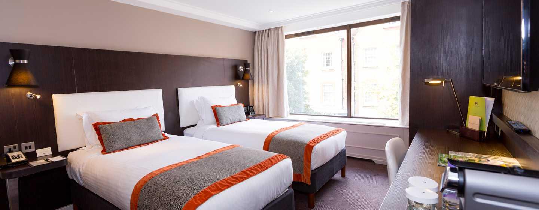 DoubleTree by Hilton Hotel London – Hotel no Hyde Park, Grã-Bretanha – Quarto Twin