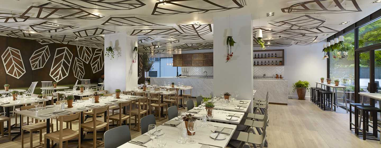 DoubleTree by Hilton Hotel London – Hotel no Hyde Park, Grã-Bretanha – Restaurante Urban Meadow