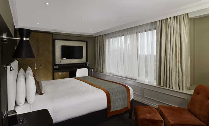 DoubleTree by Hilton Hotel London – Hotel no Hyde Park, Grã-Bretanha – Quarto King Deluxe