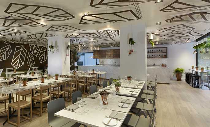 Hotel DoubleTree by Hilton London - Hyde Park, Reino Unido - Restaurante Urban Meadow
