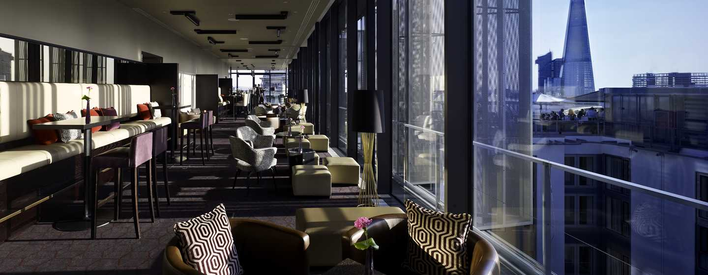 Hôtel DoubleTree by Hilton Hotel London - Tower of London, Royaume-Uni - Skylounge