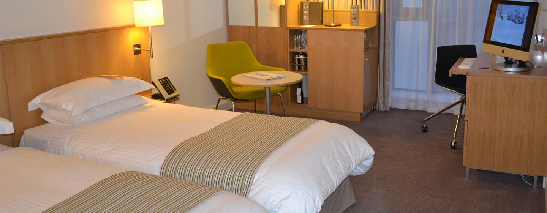 Hôtel DoubleTree by Hilton Hotel London - Tower of London, Royaume-Uni - Chambre avec lits jumeaux