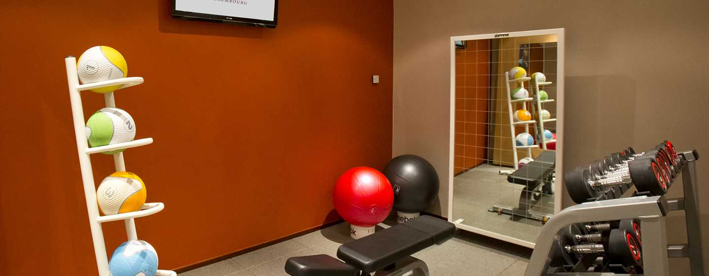 DoubleTree by Hilton Luxembourg, Luxemburg – Fitnesscenter