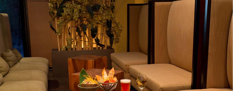 Hotel DoubleTree by Hilton Orlando at SeaWorld, Florida - Restaurante Bangli