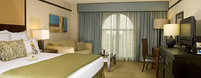 Hotel DoubleTree by Hilton Orlando at SeaWorld, Florida - Habitación con cama King, en la torre