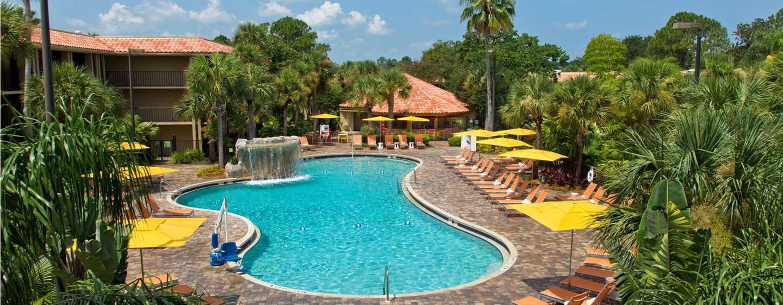 Hotel DoubleTree by Hilton Orlando at SeaWorld, Florida - Piscina al aire libre