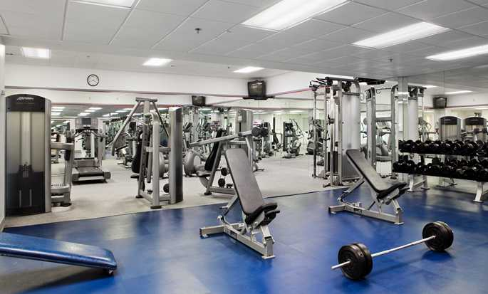 Hotel DoubleTree by Hilton Miami Airport & Convention Center, Florida, EE. UU. - Gimnasio