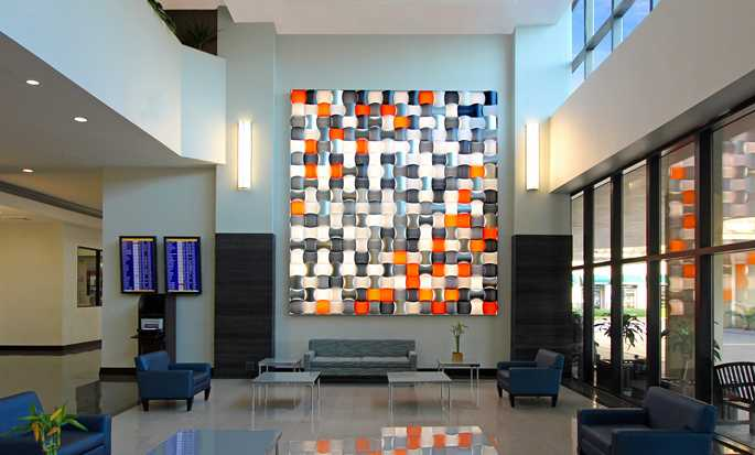 Hotel DoubleTree by Hilton Miami Airport & Convention Center, Flórida, EUA – Lobby