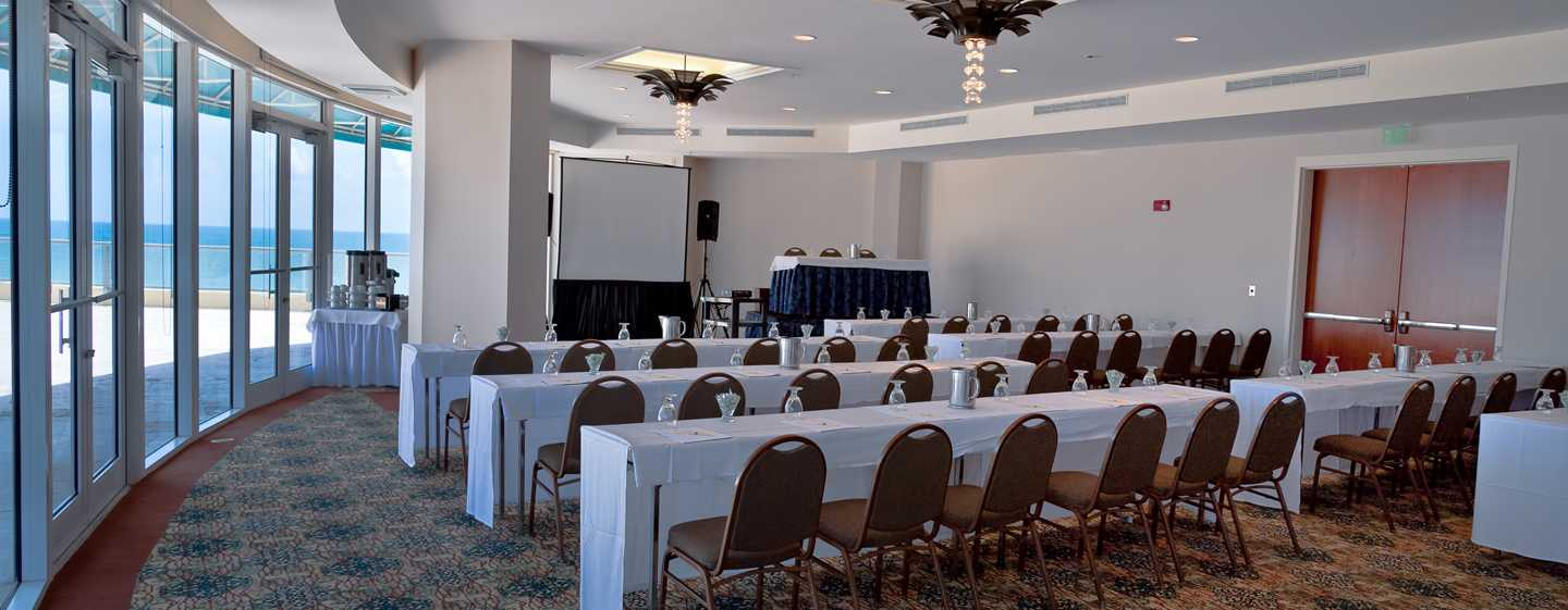 Hotel DoubleTree Resort & Spa by Hilton Ocean Point - North Miami Beach, Florida, EE. UU. - Sala de reuniones Ocean Point