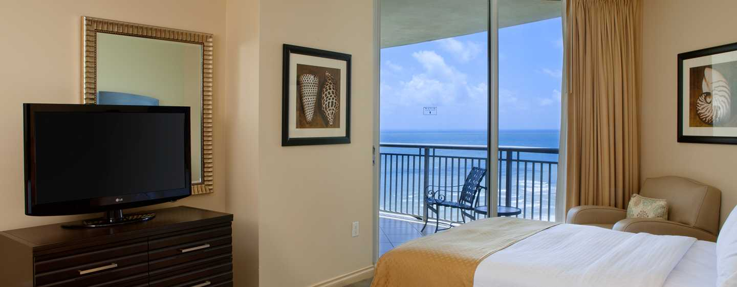 Hotel DoubleTree Resort & Spa by Hilton Ocean Point - North Miami Beach, Florida, EE. UU. - Habitación con cama doble