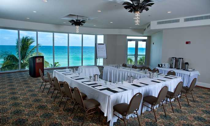 Hotel DoubleTree Resort & Spa by Hilton Ocean Point - North Miami Beach, Florida, EE. UU. - Sala de reuniones Atlantic
