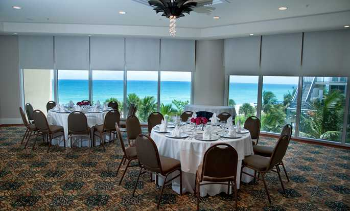 Hotel DoubleTree Resort & Spa by Hilton Ocean Point - North Miami Beach, Florida, EE. UU. - Sala de reuniones