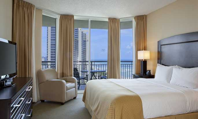 Hotel DoubleTree Resort & Spa by Hilton Ocean Point - North Miami Beach, Florida, EE. UU. - Habitación con cama King