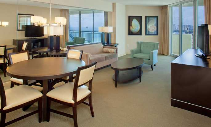 Hotel DoubleTree Resort & Spa by Hilton Ocean Point - North Miami Beach, Florida, EE. UU. - Suite de un dormitorio