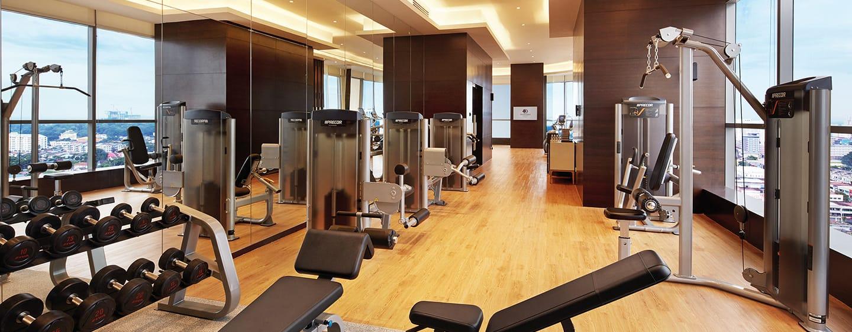โรงแรม DoubleTree by Hilton Hotel Melaka มาเลเซีย - ห้องออกกำลังกาย