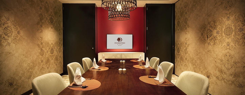โรงแรม DoubleTree by Hilton Hotel Melaka มาเลเซีย - Makan Kitchen ห้องอาหารส่วนตัว
