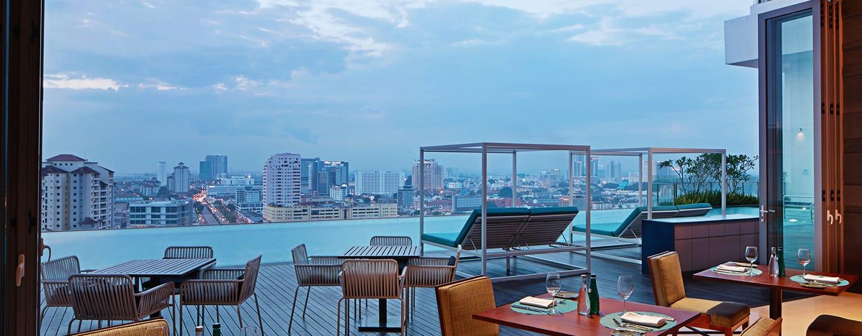โรงแรม DoubleTree by Hilton Hotel Melaka มาเลเซีย - Tosca Italian Trattoria