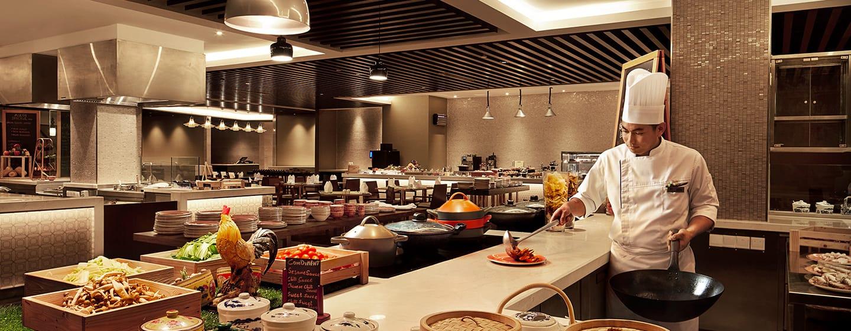 โรงแรม DoubleTree by Hilton Hotel Melaka มาเลเซีย - Makan Kitchen