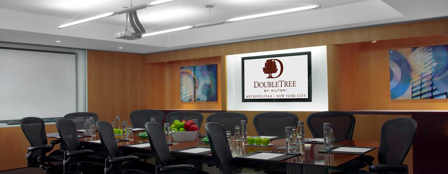 Hotel DoubleTree by Hilton Metropolitan – New York City, NY – Meetingraum