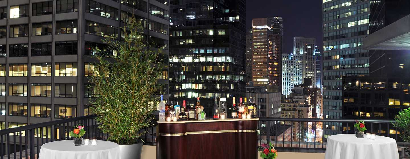 Hotel DoubleTree by Hilton Metropolitan - New York City, Nueva York - Terraza