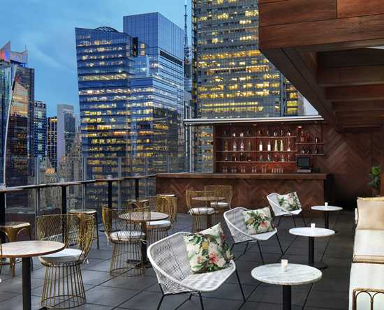 Hotel DoubleTree by Hilton New York Times Square West, Nueva York - High Bar & Lounge