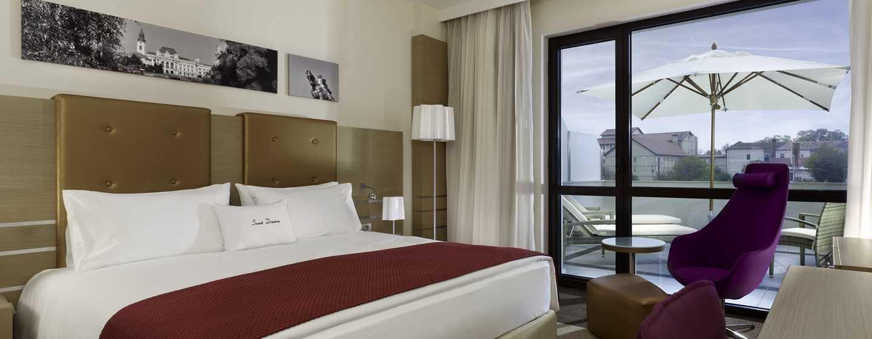 Hotel DoubleTree by Hilton Oradea, România – Cameră Deluxe cu pat King
