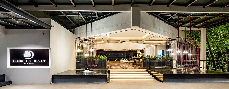โรงแรม Doubletree by Hilton Penang มาเลเซีย - ทางเข้าล็อบบี้